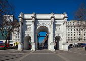 stock photo of neo-classic  - Marble Arch London England - JPG