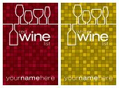 foto of sparkling wine  - Wine maze mosaic menu in vector format - JPG