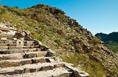 picture of piestewa  - Rock Stairway on Piestewa  - JPG