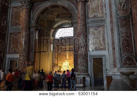 Michelangielo's Pieta Statue