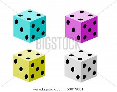 Game dice set