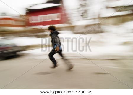 Running Blur Concept