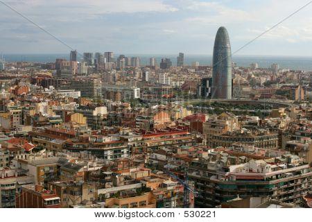 Stadtbild von Barcelona