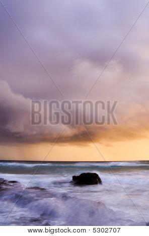 North Stradbroke Island Storm