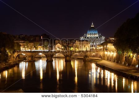 Saint Peter's Basilica In Rome