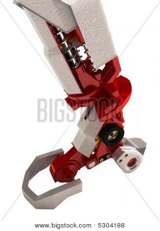 Heavy Robotic Arm, Standing