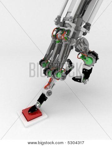Robotic Hand, Button