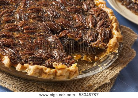 Homemade Delicious Pecan Pie