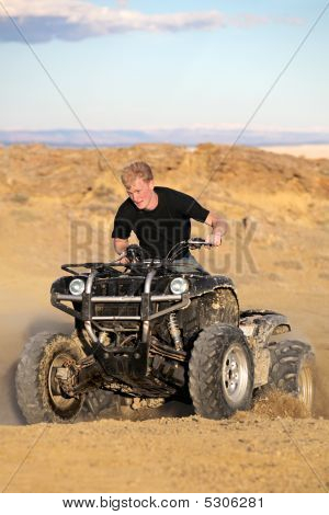 Teen On Quad