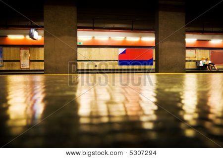 Rome Italian Subway