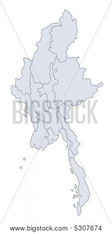 Map Myanmar