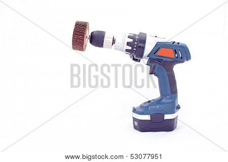 Side Angled View Of Drilling Machine