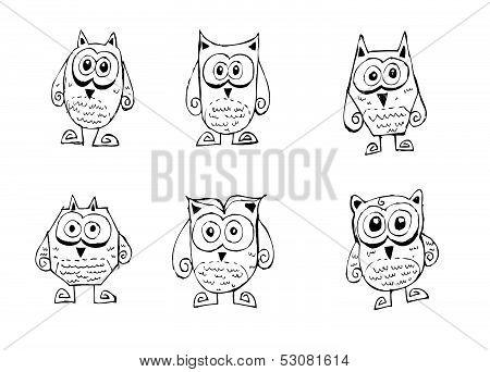 Cute cartoon animals in Jaidee Family Style