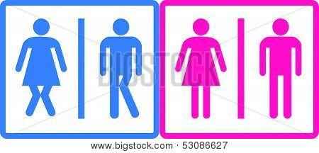 Toilet  Label