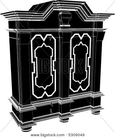 Antique Cupboard Dresser