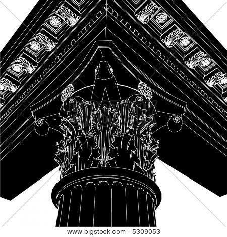 Greek Corinthian Column