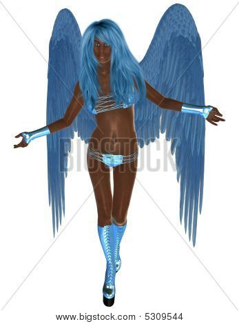 African Blue Angel