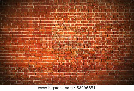 Weathered texture of stained old dark white and red brick wall background, grungy rusty blocks of stone-work technology, colorful horizontal architecture