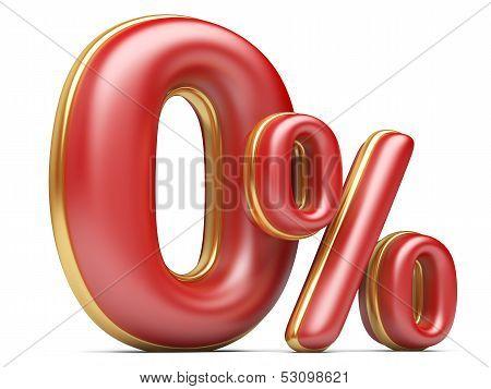 Red Zero Percent.