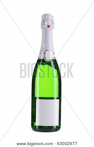 Bottle of champange.