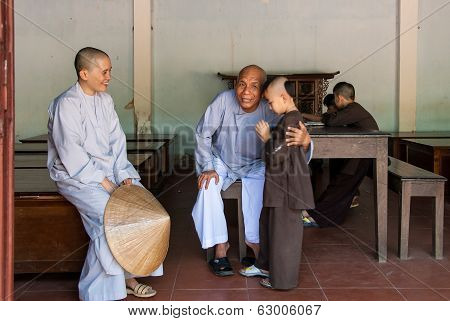 Monks In Vietnam