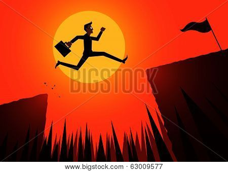 jump, business to winner
