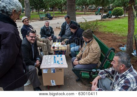 Playing Board Games In Lebanon