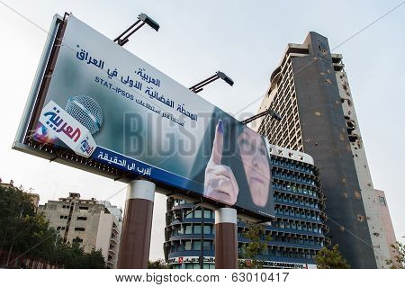 Poster In Beirut, Lebanon