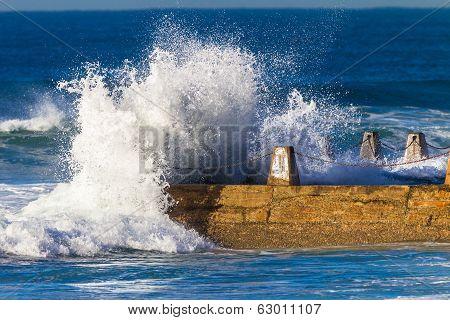 Ocean Beach Waves Water Power