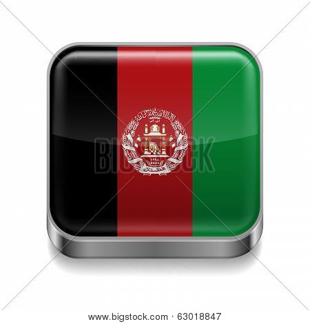 Metal  icon of Afghanistan