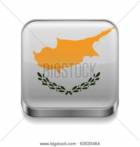 Metal  icon of Cyprus