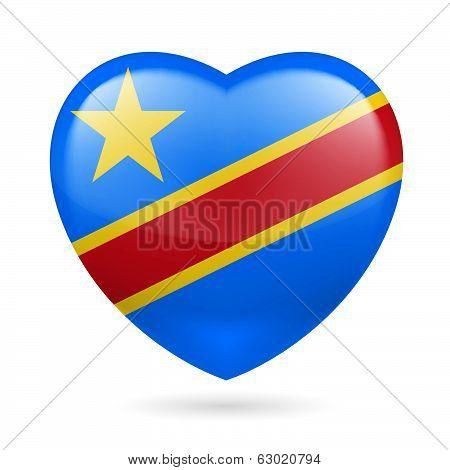 Heart icon of Democratic Republic of Congo