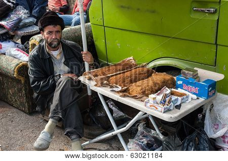 Tobacco Vendor In Lebanon