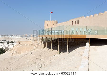 Riffa Fort In Bahrain, Middle East