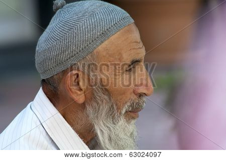 Man Wearing A Cap