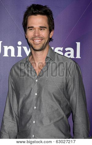 LAS VEGAS - APR 8:  David Walton at the NBCUniversal Summer Press Day at Huntington Langham Hotel on April 8, 2014 in Pasadena, CA