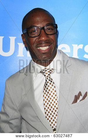 LAS VEGAS - APR 8:  J.B. Smoove at the NBCUniversal Summer Press Day at Huntington Langham Hotel on April 8, 2014 in Pasadena, CA