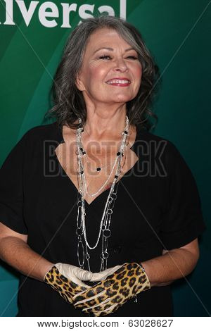LAS VEGAS - APR 8:  Roseanne Barr at the NBCUniversal Summer Press Day at Huntington Langham Hotel on April 8, 2014 in Pasadena, CA