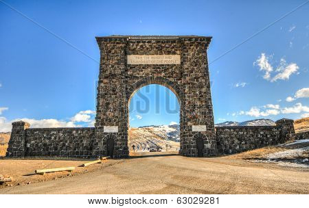 Yellowstone National Park Entrance, Arch