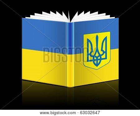 Open Book - Ukraine Flag