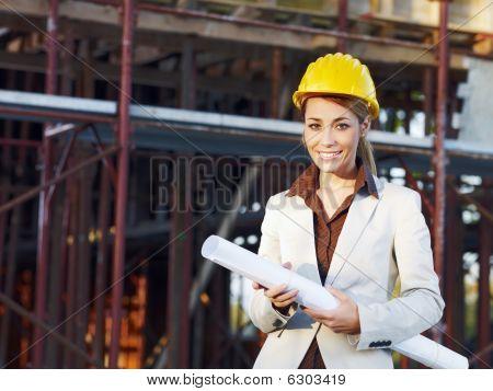 weibliche Architekt