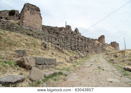Footpath And Ruins