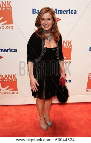 NEW YORK-APR 9: Food personality Marisa May attends the Food Bank for New York City's Can Do Awards Dinner Gala at Cipriani Wall Street on April 9, 2014 in New York City.