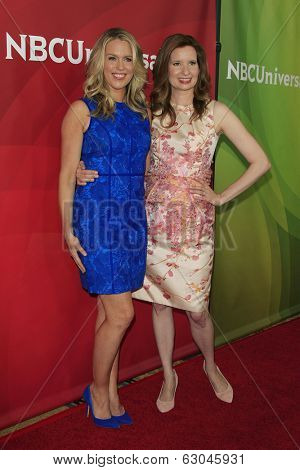 PASADENA - APR 8: Jessica St Clair, Lennon Parham at the NBC/Universal's 2014 Summer Press Day held at the Langham Hotel on April 8, 2014 in Pasadena, California