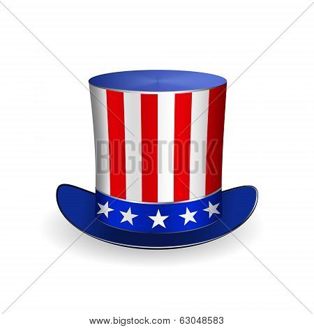 Top Hat for Fourth of July