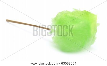 Green Cotton Candy