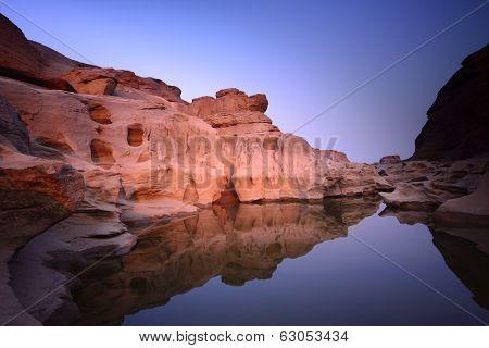 Lake and Stone