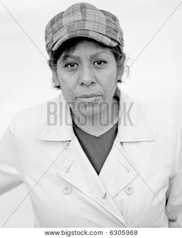 Street Portrait of a woman