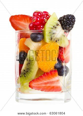Glass Of Fruit Salad