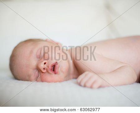 Newborn baby boy.